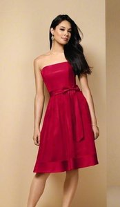 Alfred Angelo Red Style 6581 Dress