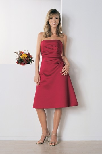 Alfred Angelo Claret Style 6129sn Dress