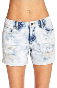 Other Denim Distressed Distressed Denim Denim Cut Off Shorts Acid wash