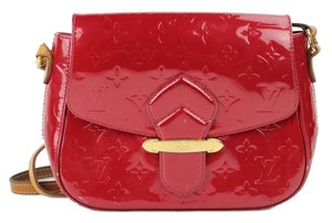 Louis Vuitton Patent Leather Red Cross Body Bag
