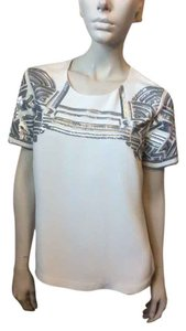 Marchesa Voyage Top White