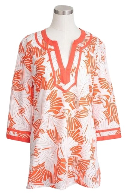 Preload https://item2.tradesy.com/images/jcrew-petal-printed-tunic-size-8-m-4549396-0-0.jpg?width=400&height=650