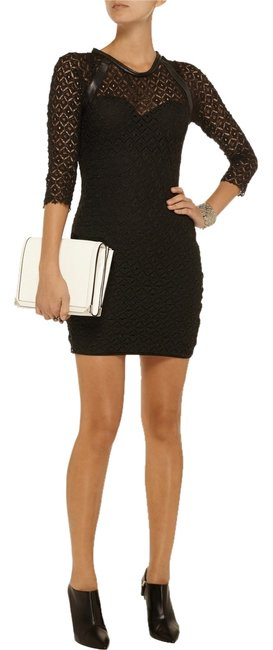 IRO short dress Black on Tradesy
