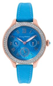 Tommy Bahama Tommy Bahama 10018364 Women's Rose Gold Analog Watch With Dark Blue Dial