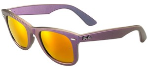 Ray-Ban Original Wayfarer Jupiter Cosmo Orange Lens Sunglasses