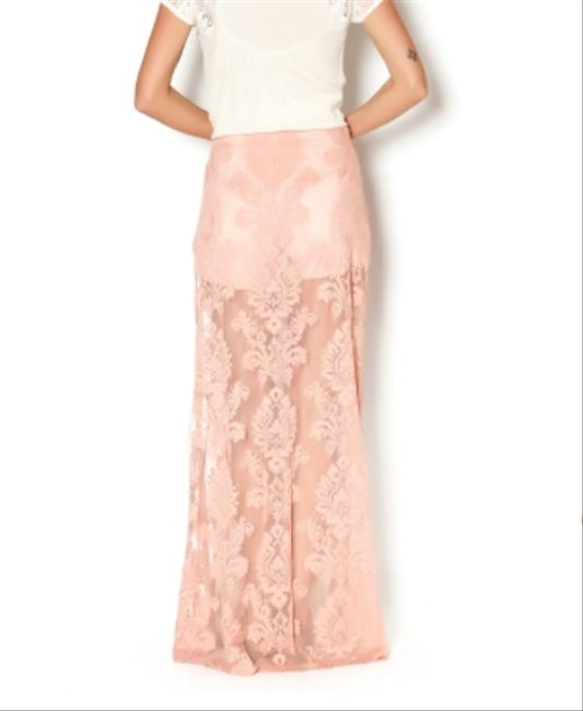 Honey Punch Marissa Nasty Gal Lace Lace Floral Full Lenght For Love And Lemons White Nasty Gal Lace Maxi Skirt Desert Rose Pink