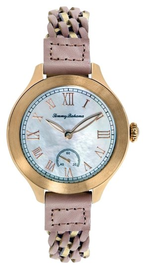 Tommy Bahama Tommy Bahama 10018367 Women's Rose Gold Analog Watch With Mother Of pearl Dial
