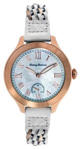 Tommy Bahama Tommy Bahama 10018368 Women's Rose Gold Analog Watch With Mother Of pearl Dial