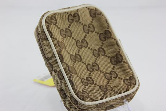 Gucci * Gucci GG Canvas Cell Phone Case - Brown