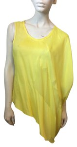 Helmut Lang Top Yellow