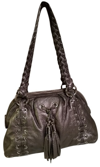 Preload https://item4.tradesy.com/images/michael-kors-braided-strap-pewter-soft-leather-shoulder-bag-4550143-0-0.jpg?width=440&height=440