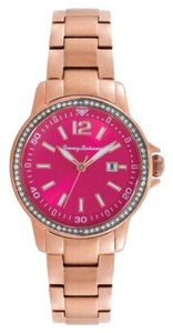 Tommy Bahama Tommy Bahama 10018374 Women's Rose Gold Analog Watch With Pink Dial