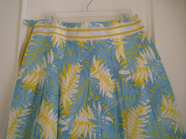 Lilly Pulitzer Mini Skirt Baby Blue and yellow