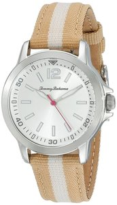 Tommy Bahama Tommy Bahama 10022440 Women's Silver Analog Watch With Silver Dial