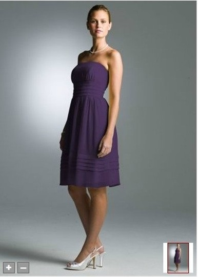 Preload https://item1.tradesy.com/images/david-s-bridal-purple-chiffon-short-strapless-pleated-crinkle-bridesmaidmob-dress-size-10-m-45505-0-0.jpg?width=440&height=440