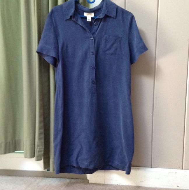 Talbots short dress Dark blue on Tradesy