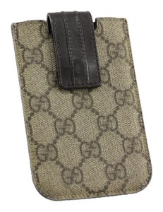 Gucci * Gucci GG Blackberry Phone Case - Brown