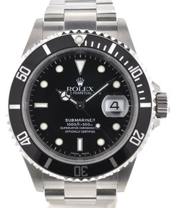 Rolex Rolex 16610 Submariner Stainless Steel Watch Papers F Serial