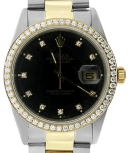 Rolex ROLEX DATEJUST 36MM TWO-TONE WATCH WITH ROLEX BOX AND APPRAISAL