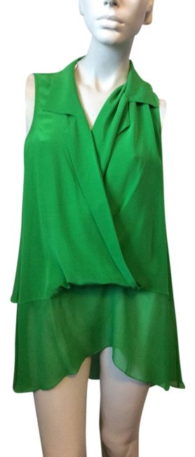 Preload https://item2.tradesy.com/images/tracy-reese-green-silk-loose-blouse-tank-topcami-size-12-l-4551361-0-0.jpg?width=400&height=650