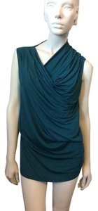Helmut Lang Top Green/blue