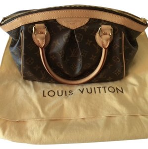 Louis Vuitton Pm Satchel in Monogram brown Tivoli