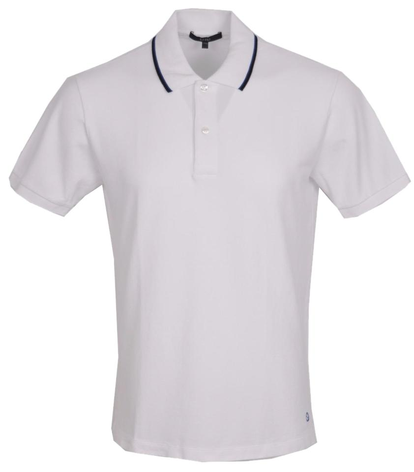 99624ef9e Gucci White Jersey New Men's 354345 Washed Cotton Gg Polo Golf ...