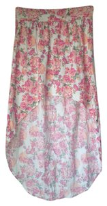 O'Neill Skirt Peach Floral Patterned