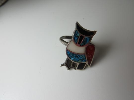 Other Vintage Owl Inlay Ring