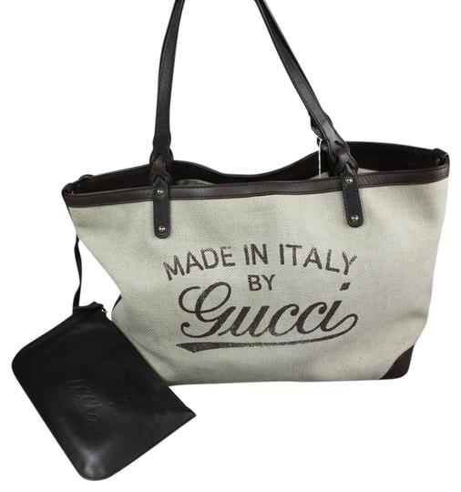 Preload https://img-static.tradesy.com/item/4553050/gucci-guccismia-beige-canvas-beach-bag-0-0-540-540.jpg