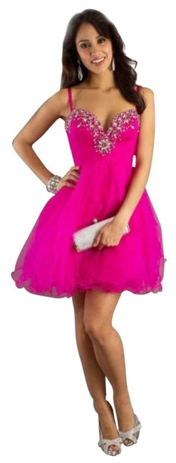 Preload https://item4.tradesy.com/images/dave-and-johnny-fuchsia-above-knee-cocktail-dress-size-8-m-4553098-0-0.jpg?width=400&height=650