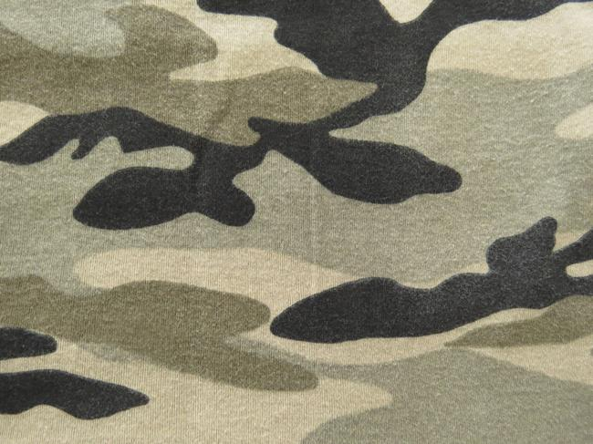 Other Vintage Hoodie Cap-sleeve Cotton T Shirt Camo