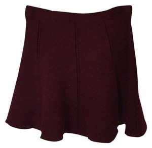 Zara Mini Skirt Marsala