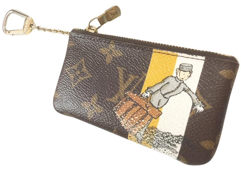 d040f69bf8d8c Louis Vuitton Louis Vuitton LIMITED TAKASHI GROOM Cles Key Coin Purse Image  0 ...