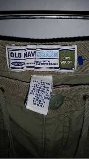Old Navy Cargo Pants green