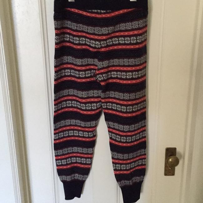 J.Crew Athletic Pants Navy red white