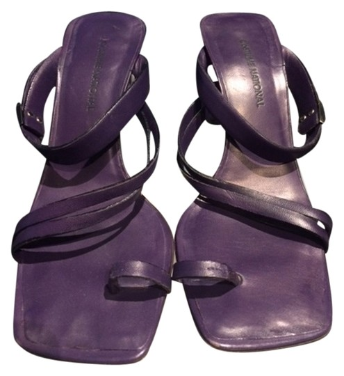 CoSTUME NATIONAL Purple Sandals