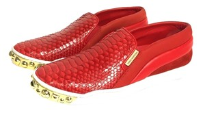 Louis Vuitton Python Studded Red Athletic