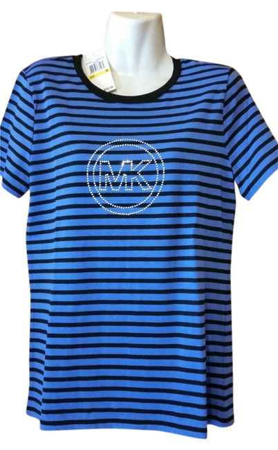 Michael Kors T Shirt blue and black