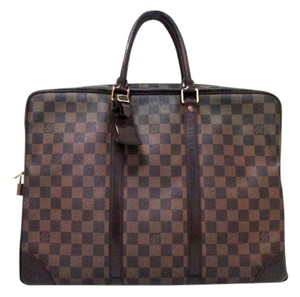 Louis Vuitton Damier Porto Dokyuman Damier Business Handbag Damier Business brown Travel Bag