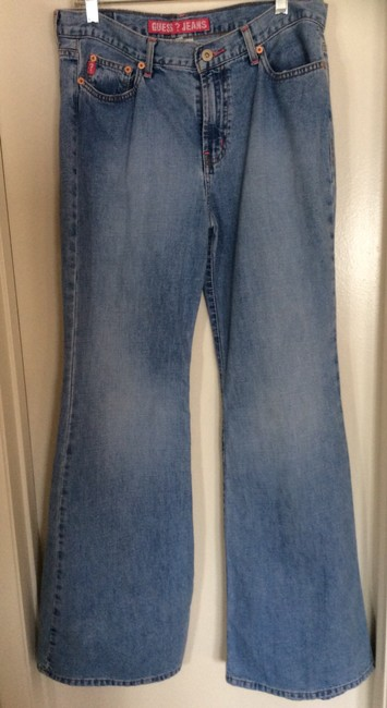 Guess Relaxed Fit Jeans-Medium Wash