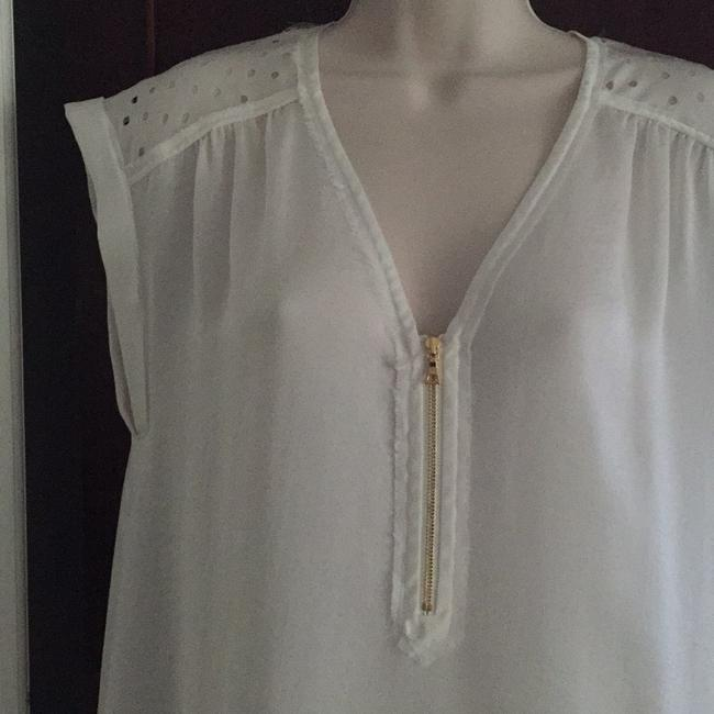 Rebecca Taylor Top Pale Ivory