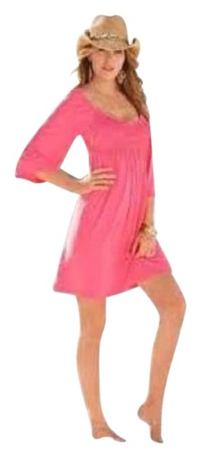 Preload https://item4.tradesy.com/images/boston-proper-pink-flared-sleeve-peasant-above-knee-short-casual-dress-size-6-s-4556398-0-2.jpg?width=400&height=650
