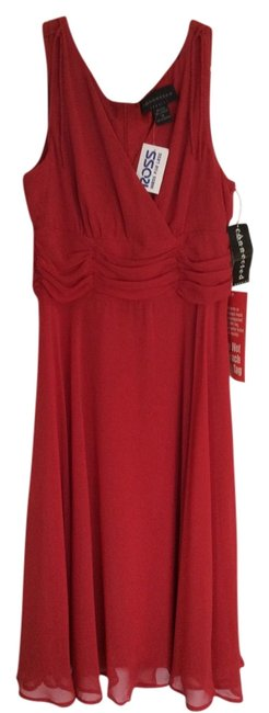 Connected Apparel short dress Red on Tradesy