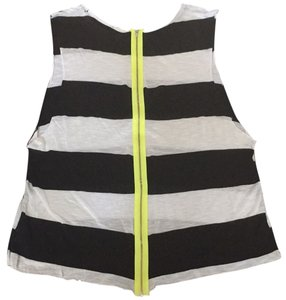 Vintage Havana Top Black white striped