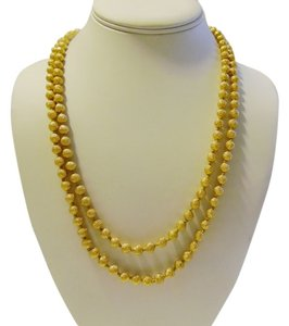 Joan Rivers JOAN RIVERS Gold Ball Necklace 21