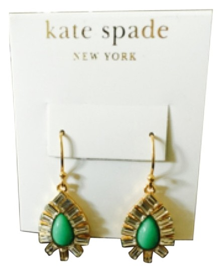 Preload https://item4.tradesy.com/images/kate-spade-green-stone-with-crystals-earrings-4557883-0-0.jpg?width=440&height=440