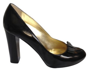 Juicy Couture Mod Patent Leather black patent Pumps