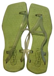 Freelance Lime green Sandals