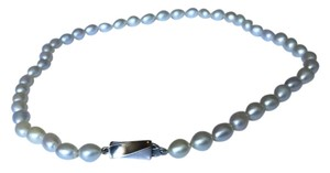 Tiffany & Co. Tiffany & Co. Rare Silver Fresh Water Pearl Necklace
